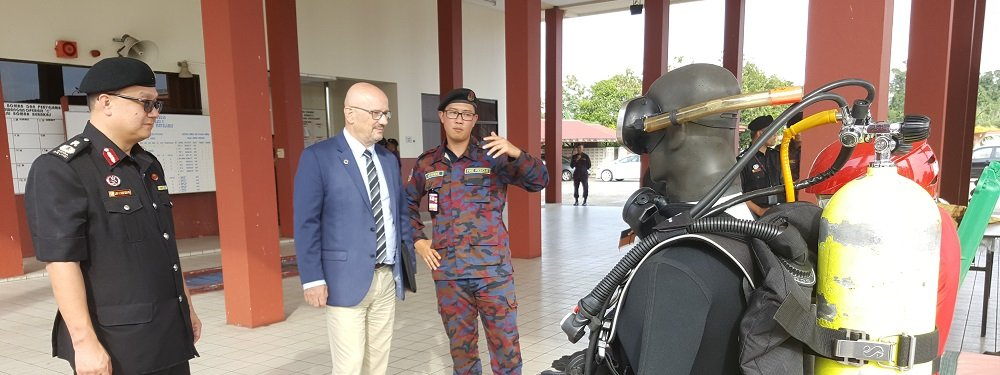 France and Brunei share their experience in Civil Defence