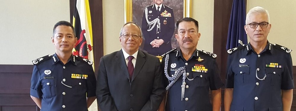 Meeting with Royal Brunei Police Force