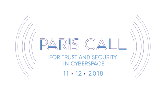 Cybersecurity: Paris Call of 12 November 2018 for Trust and Security in (...)