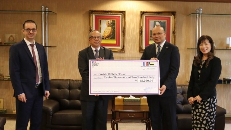 Covid-19 : Donation to Ministry of Health